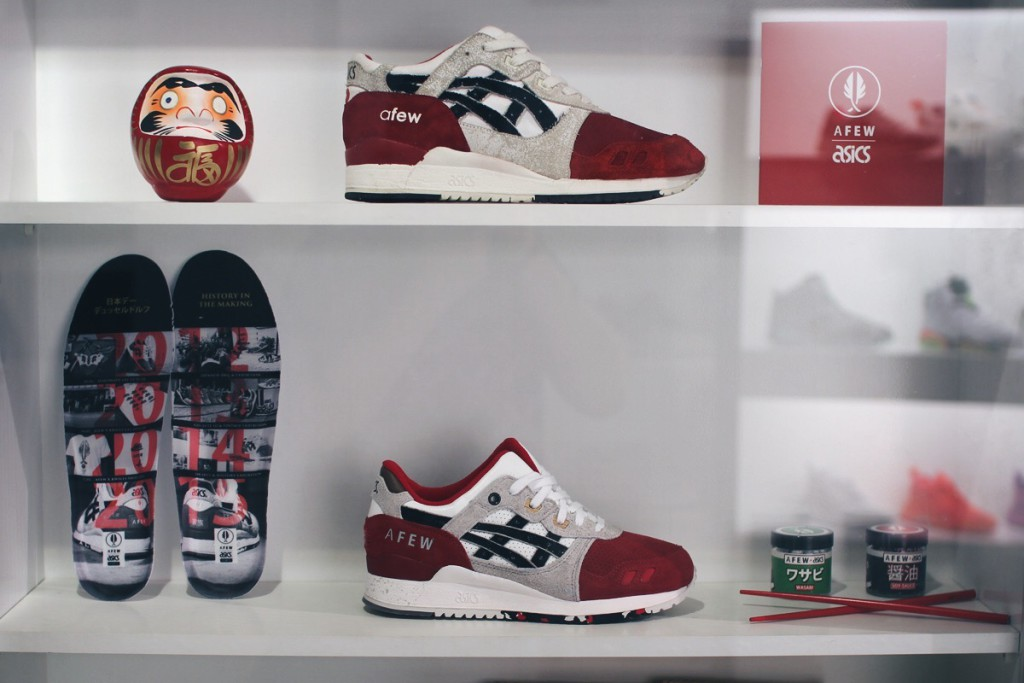 afew x heimplanet future koi pack event japan tag 2016 asics gel lyte 3 koi