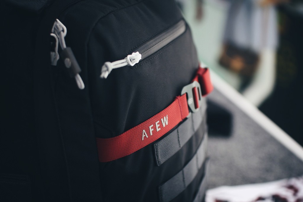 afew x heimplanet future koi pack event japan tag 2016 monolith backpack