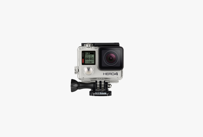 gopro hero 4 silber actionkamera