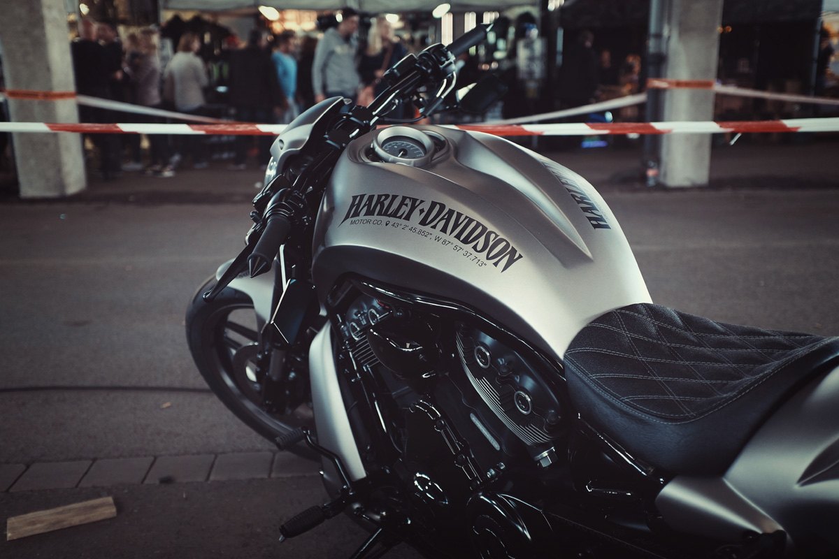 harley-davidson night-rod silber-Milwaukee
